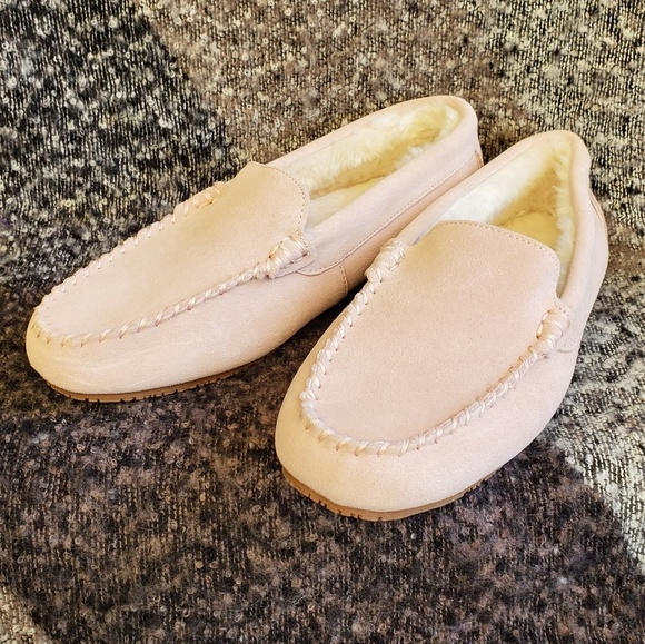 Womens Suede Moccasin Slippers | Poshmark